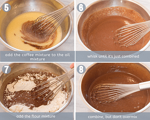 steps 6 to 8 for chocolate cupcakes