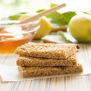 pasteli ancient greek sesame bars with honey