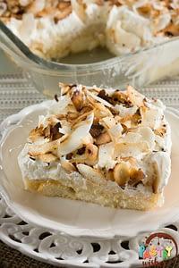Easy Coconut Lush Dessert