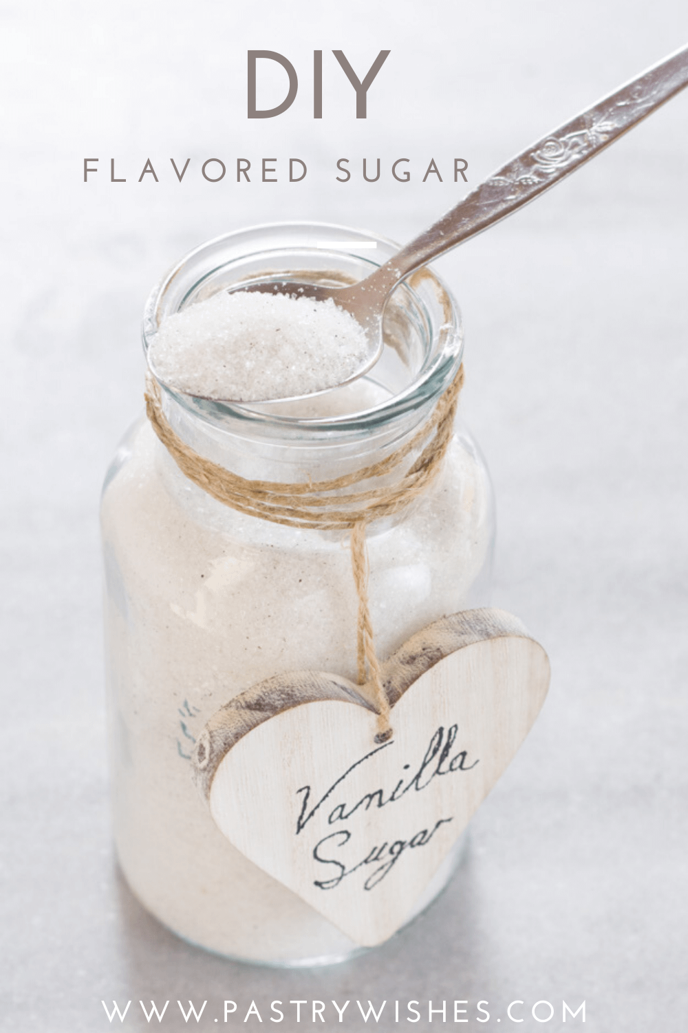 DIY flavored sugar