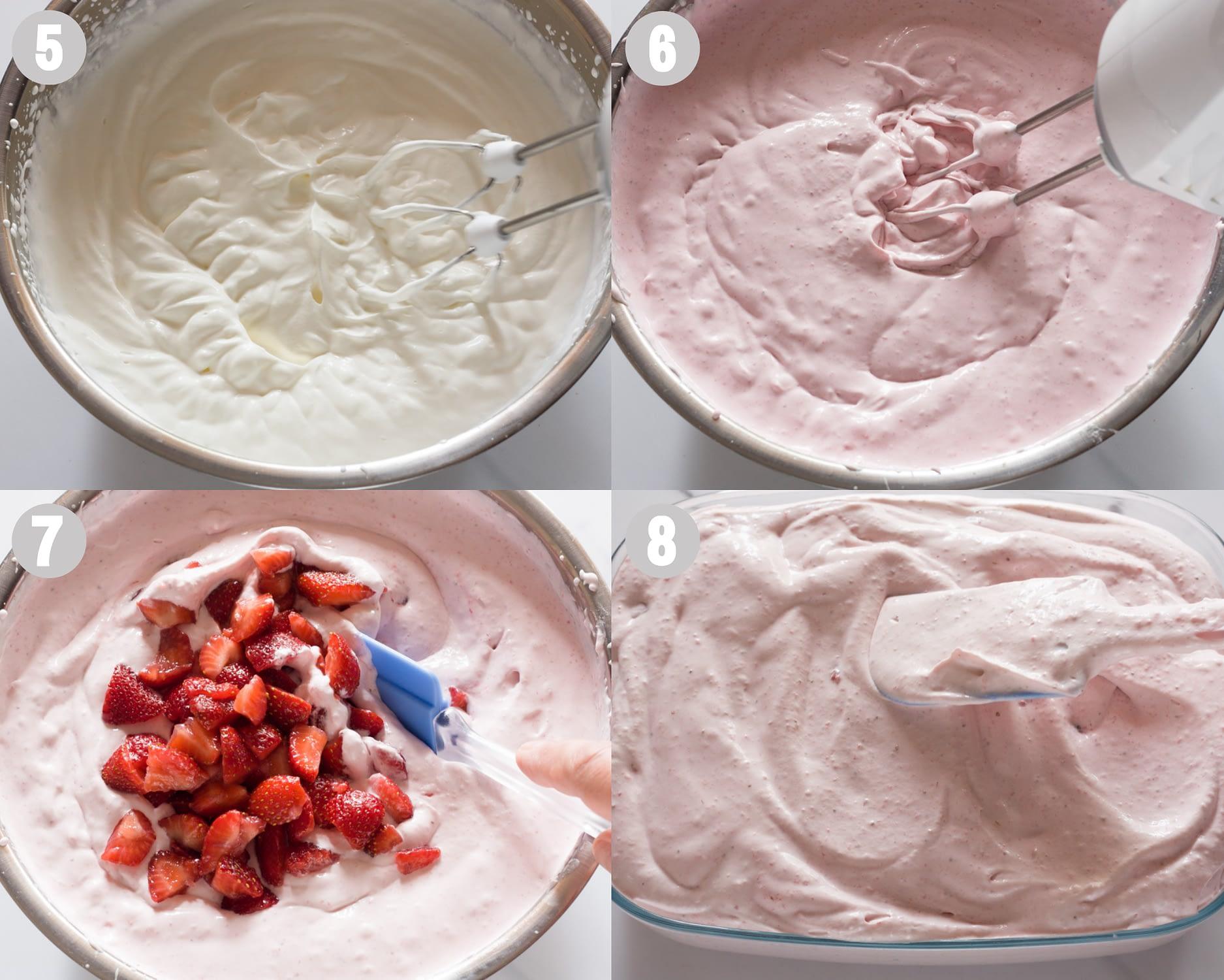 strawberry ice cream steps 5-8