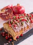 lemon pomegranate cake
