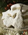 Kourabiedes Greek Butter Cookies
