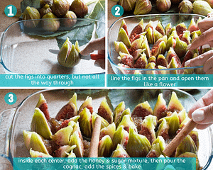 baked figs steps