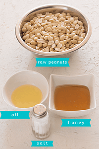 homemade peanut butter ingredients