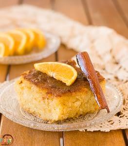 Portokalopita Greek Orange Phyllo Cake
