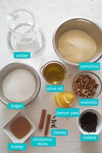 halva ingredients