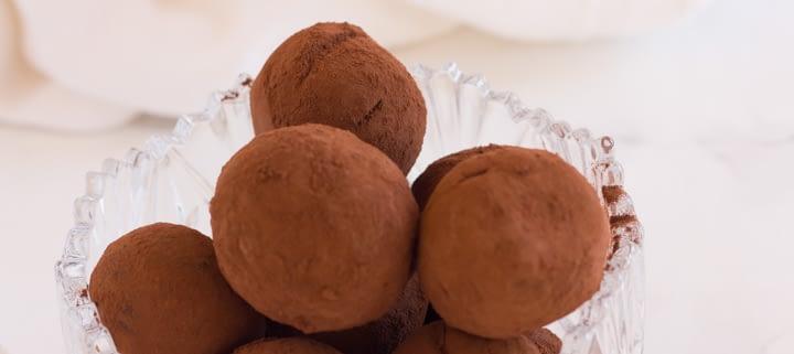 veganchocolatetruffles