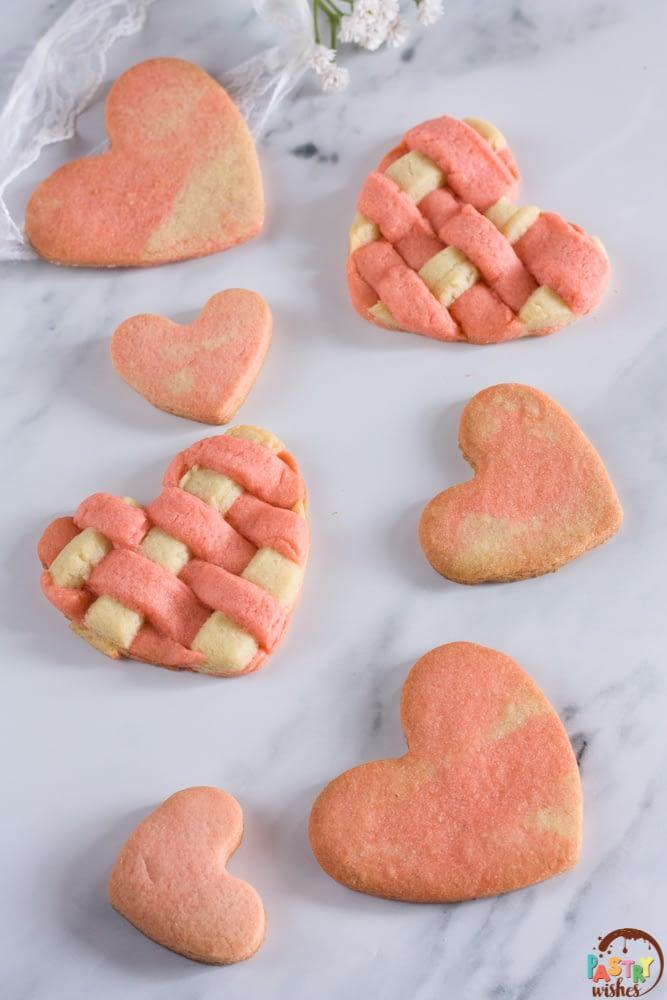 Easy Valentine's Day Heart Sugar Cookies