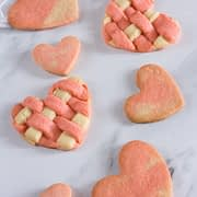Easy Valentine's Day Heart Sugar Cookies