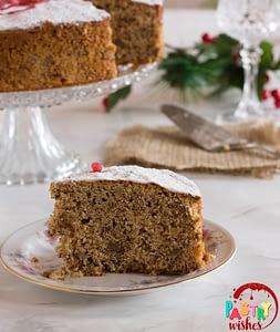Vasilopita Greek New Year's Cake